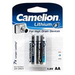 Комплект батареек Camelion (размер АА, 2 шт., 1.5V, литиевые)