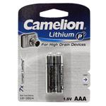Комплект батареек Camelion (размер AAA, 2 шт., 1.5V, литиевые)