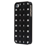 Чехол X-doria Engage Case для Apple iPhone 4/4S (серебристый)
