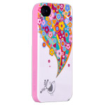 Чехол X-doria Dream Works Case для Apple iPhone 4/4S (с рисунком, Heaven Bird)
