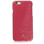 Чехол Just Must Croco I Series для Apple iPhone 6/6S (красный, кожаный)