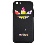 Чехол WK Wear It Case для Apple iPhone 6/6S (Adidas Black, гелевый)