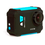 Экшн-камера Remax HD TV Sports Action Camera (черная/голубая)
