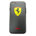 Чехол WK Wear It Case для Apple iPhone 6/6S (Ferrari, гелевый)