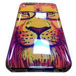 Чехол Yotrix CreativeCase для Apple iPhone 6S (Lion in Glasses, гелевый)