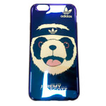 Чехол Yotrix CreativeCase для Apple iPhone 6S (Adidas Jeremy Scott Black, гелевый)