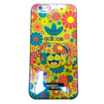 Чехол Yotrix CreativeCase для Apple iPhone 6S (Adidas Jeremy Scott Green, гелевый)