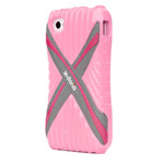 Чехол X-doria Sport Cross Case для Apple iPhone 4/4S (розовый)