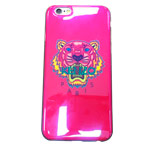 Чехол Yotrix CreativeCase для Apple iPhone 6S (Kenzo Tiger Pink, гелевый)