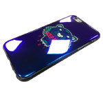 Чехол Yotrix CreativeCase для Apple iPhone 6S (Kenzo Tiger Navy, гелевый)