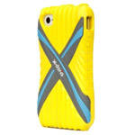 Чехол X-doria Sport Cross Case для Apple iPhone 4/4S (желтый)