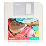 Внешняя батарея Remax Floppy Disk series универсальная (5000 mAh, белая)