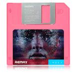 Внешняя батарея Remax Floppy Disk series универсальная (5000 mAh, розовая)