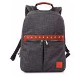 Рюкзак Remax Double Bag #511 (темно-серый, 1 отделение, 6 карманов)