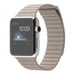 Ремешок для часов Synapse Leather Loop для Apple Watch (38 мм, бежевый, кожаный)