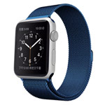 Ремешок для часов Synapse Milanese Loop для Apple Watch (42 мм, синий, стальной)