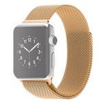 Ремешок для часов Synapse Milanese Loop для Apple Watch (38 мм, золотистый, стальной)
