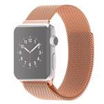 Ремешок для часов Synapse Milanese Loop для Apple Watch (38 мм, розово-золотистый, стальной)