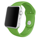 Ремешок для часов Synapse Sport Band для Apple Watch (42 мм, зеленый, силиконовый)