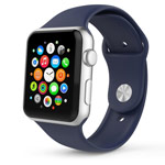 Ремешок для часов Synapse Sport Band для Apple Watch (42 мм, синий, силиконовый)