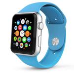 Ремешок для часов Synapse Sport Band для Apple Watch (42 мм, голубой, силиконовый)