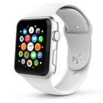 Ремешок для часов Synapse Sport Band для Apple Watch (38 мм, белый, силиконовый)