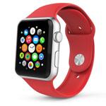 Ремешок для часов Synapse Sport Band для Apple Watch (38 мм, красный, силиконовый)