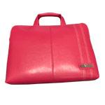 Сумка YJ-Tech Polish Leather Laptop Bag универсальная (розовая, 13-15