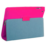 Чехол YooBao Executive Leather case для Apple New iPad (кожанный, розовый)