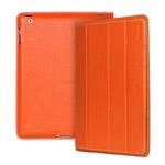 Чехол YooBao iSmart Leather case для Apple iPad 2/New iPad (оранжевый, кожанный)