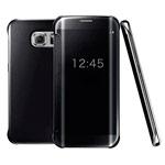 Чехол Yotrix FlipWallet case для Samsung Galaxy S6 edge SM-G925 (черный, пластиковый)