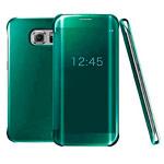 Чехол Yotrix FlipWallet case для Samsung Galaxy S6 edge plus SM-G928 (зеленый, пластиковый)