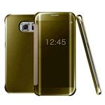 Чехол Yotrix FlipWallet case для Samsung Galaxy S6 edge plus SM-G928 (золотистый, пластиковый)