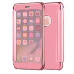 Чехол Yotrix FlipWallet case для Apple iPhone 6S (розово-золотистый, пластиковый)