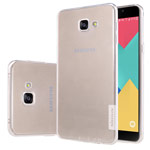 Чехол Nillkin Nature case для Samsung Galaxy A9 A9000 (прозрачный, гелевый)