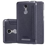 Чехол Nillkin Sparkle Leather Case для Xiaomi Redmi 3 (темно-серый, винилискожа)