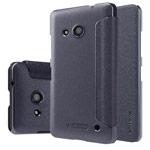Чехол Nillkin Sparkle Leather Case для Microsoft Lumia 550 (темно-серый, винилискожа)