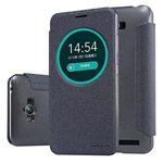 Чехол Nillkin Sparkle Leather Case для Asus Zenfone Max ZC550KL (темно-серый, винилискожа)