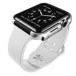 Чехол X-doria Defense Edge для Apple Watch 38 мм (серебристый, маталлический)