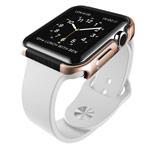 Чехол X-doria Defense Edge для Apple Watch 38 мм (золотистый, маталлический)