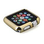 Чехол X-doria Defense Armour для Apple Watch 38 мм (золотистый, пластиковый)