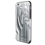 Чехол X-doria Revel Case для Apple iPhone 6S (Zebra, пластиковый)