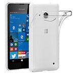 Чехол Yotrix UltrathinCase для Microsoft Lumia 550 (прозрачный, гелевый)