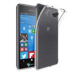 Чехол Yotrix UltrathinCase для Microsoft Lumia 650 (прозрачный, гелевый)