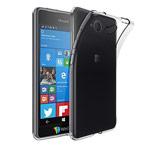 Чехол Yotrix UltrathinCase для Microsoft Lumia 650 (серый, гелевый)