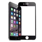 Защитная пленка Yotrix 3D Glass Protector для Apple iPhone 6S plus (стеклянная, черная)