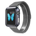 Чехол G-Case Shiny Series для Apple Watch 38 мм (темно-серый, пластиковый)