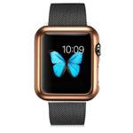 Чехол G-Case Shiny Series для Apple Watch 38 мм (золотистый, пластиковый)