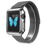 Чехол G-Case Shiny Series для Apple Watch 38 мм (серебристый, пластиковый)