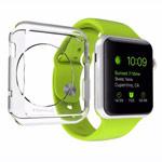Чехол G-Case TPU Shield для Apple Watch 38 мм (прозрачный, гелевый)